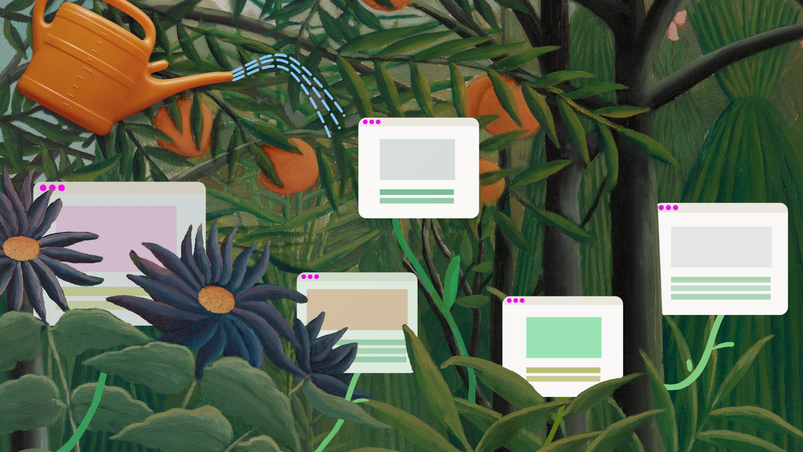 SNS全盛の時代に 「デジタル・ガーデン」が 静かなブーム