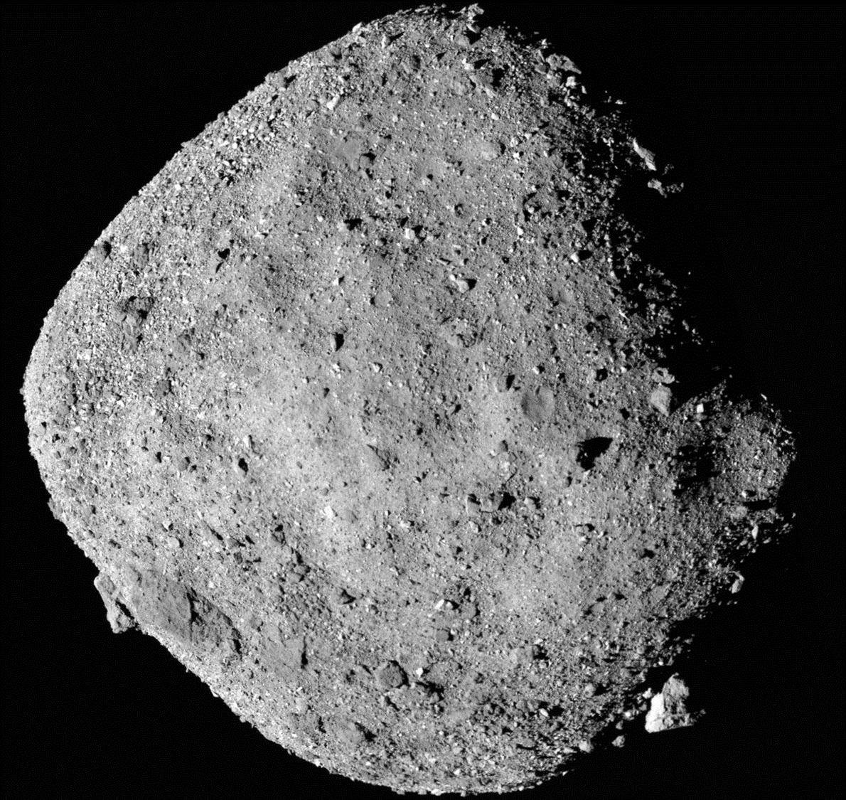 小惑星「ベンヌ」に流水の痕跡か? 新事実が相次ぎ発表に