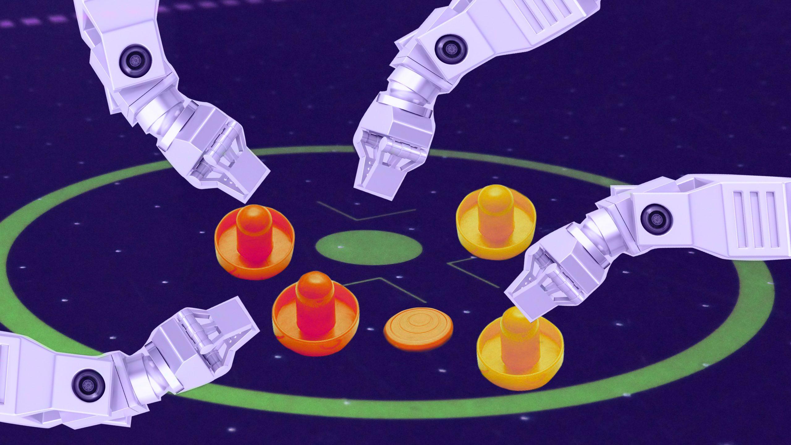 協調型ロボットに「心の理論」は不要か?単純化で優れた結果に