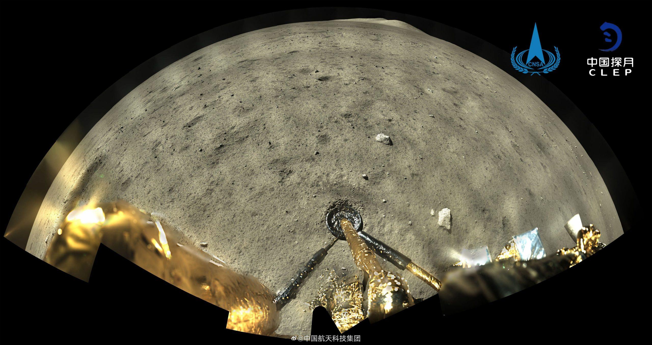 中国「嫦娥5号」が月の石の持ち帰りに成功、44年ぶり