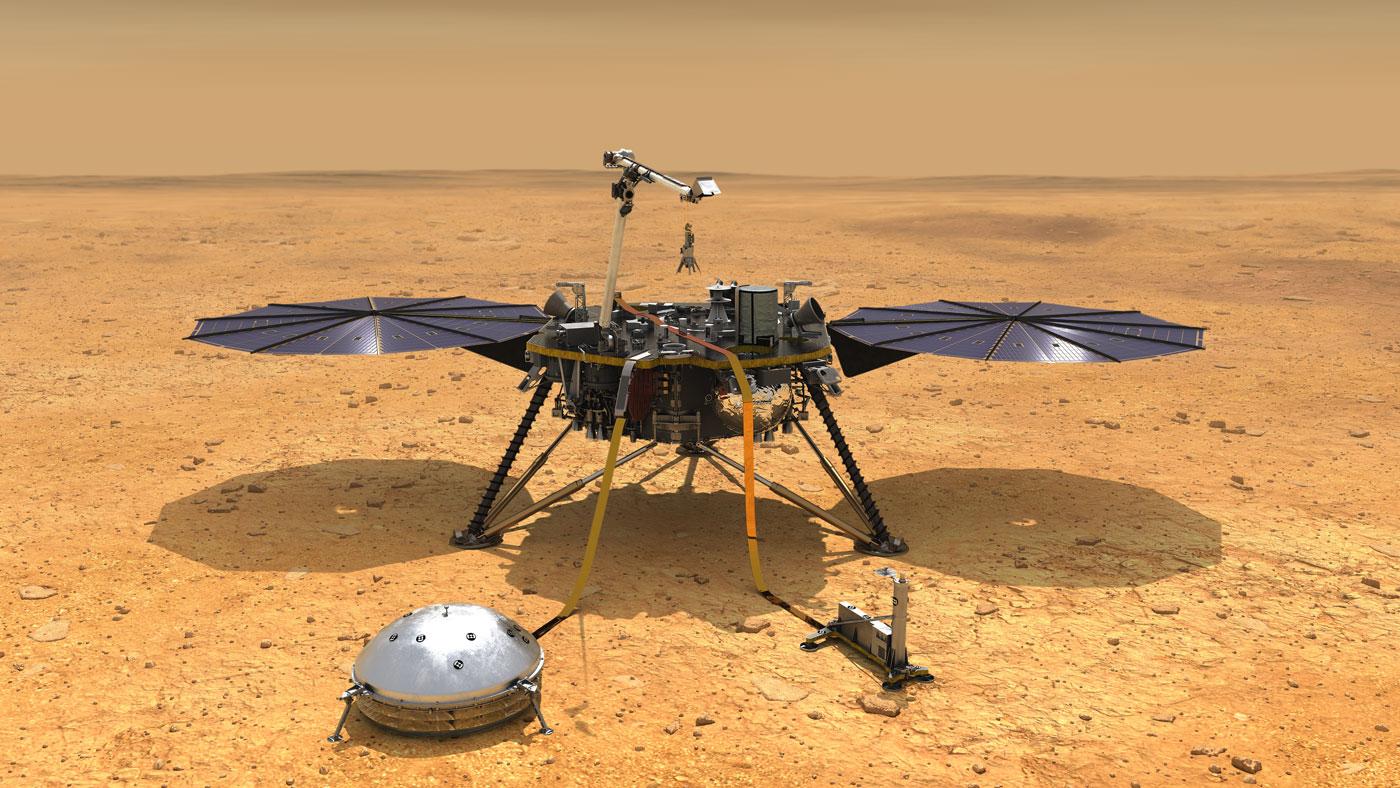 NASAの火星探査機インサイト、地中への熱プローブ設置を断念