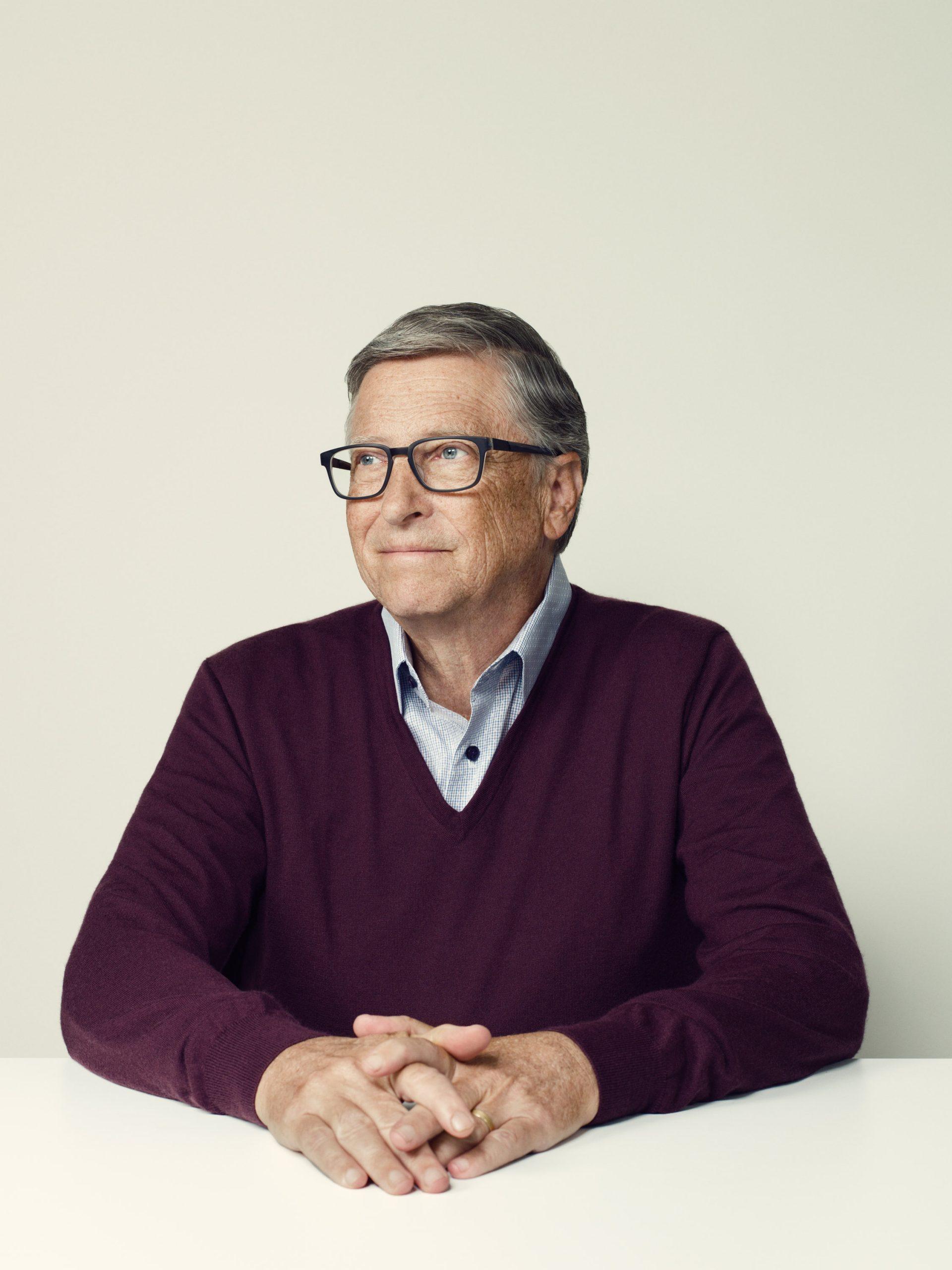 「富裕国は人工肉を食べよ」 ビル・ゲイツ、 気候変動問題を語る