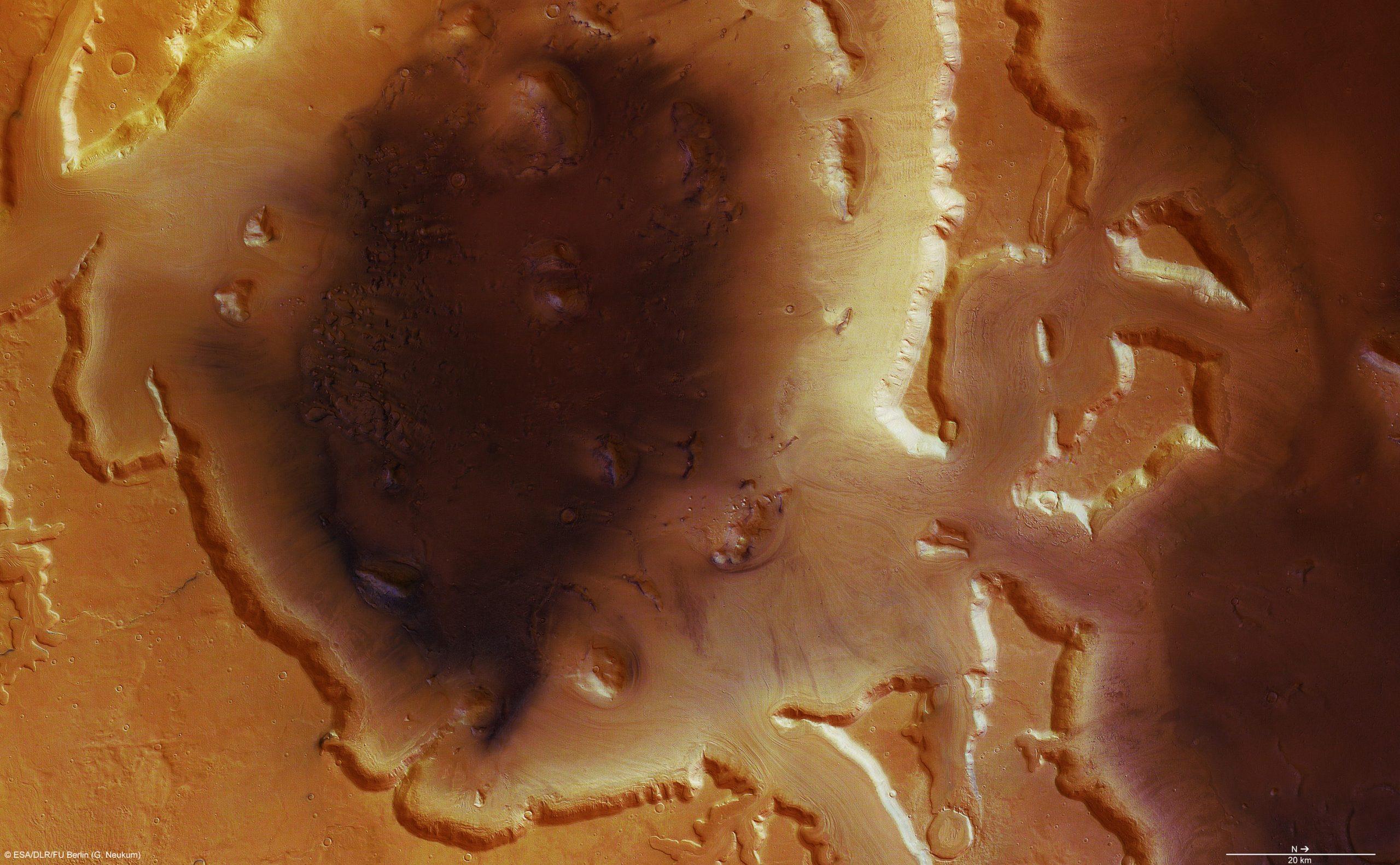 惑星科学研、火星で氷を得るのに最適な場所を特定