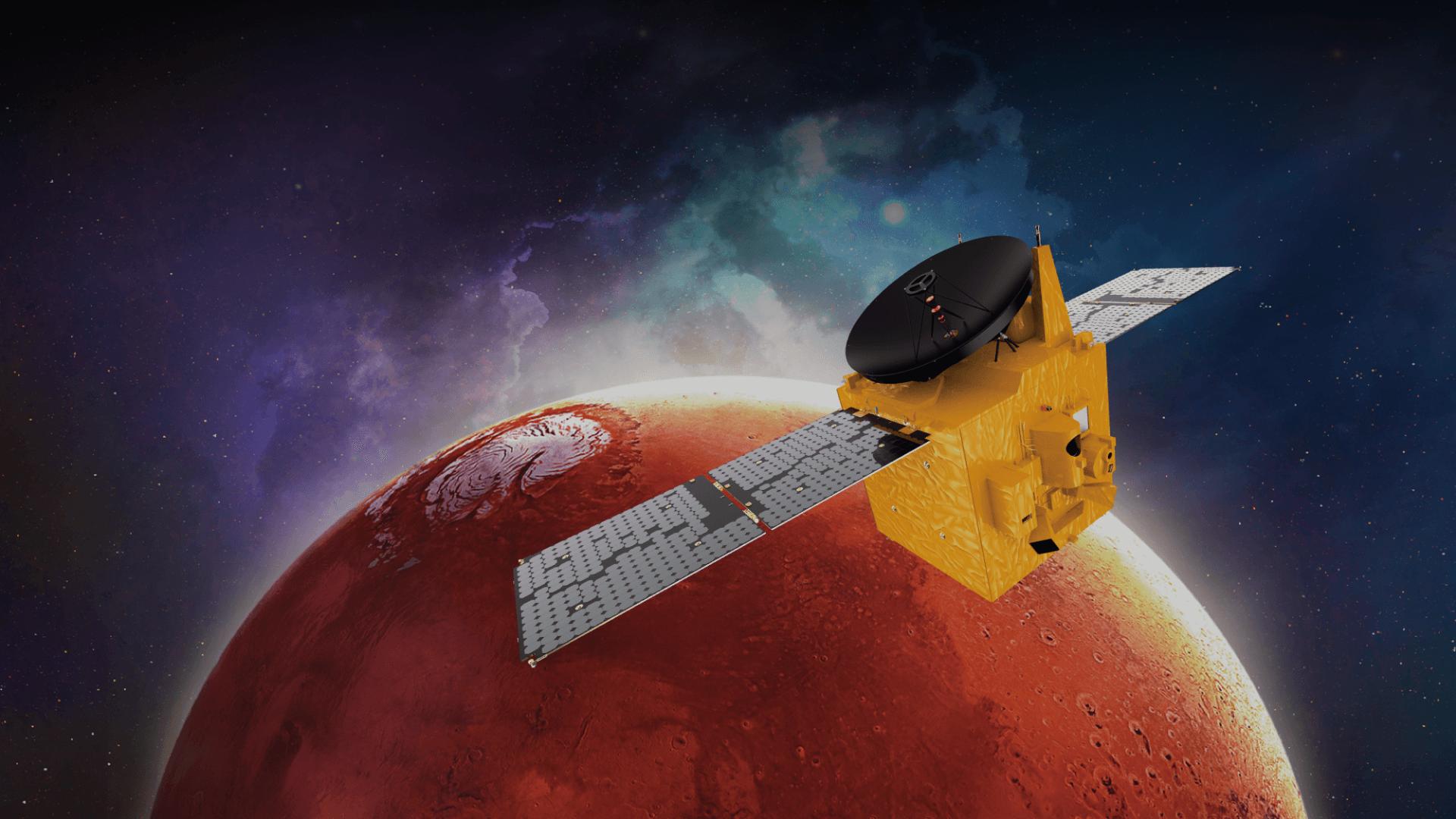UAEの探査機「ホープ」が火星に到達、世界で5番目