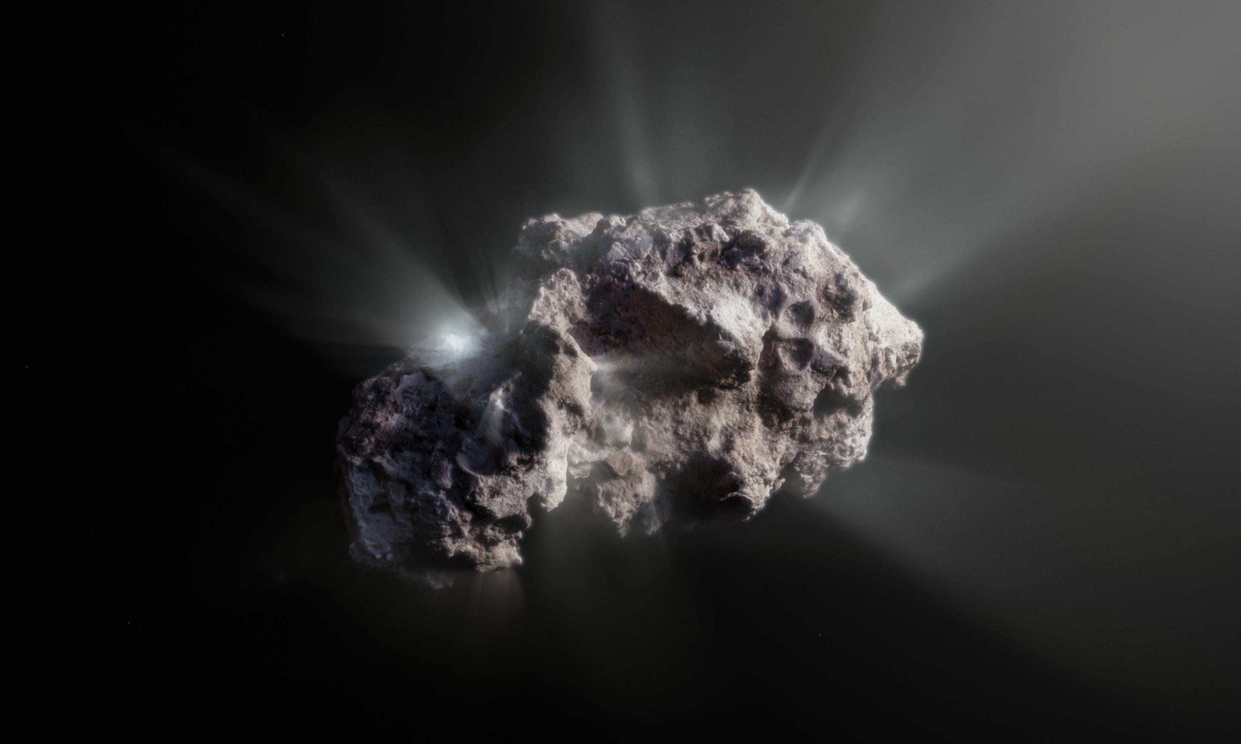 ボリソフ彗星に新たな知見、実は原始のタイムカプセル