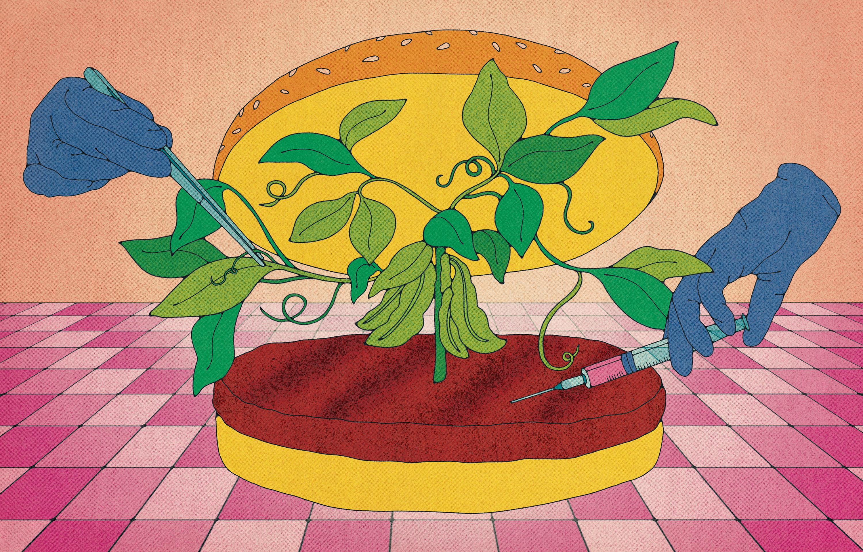 高すぎる「培養肉」、 植物肉とのブレンドが現実的