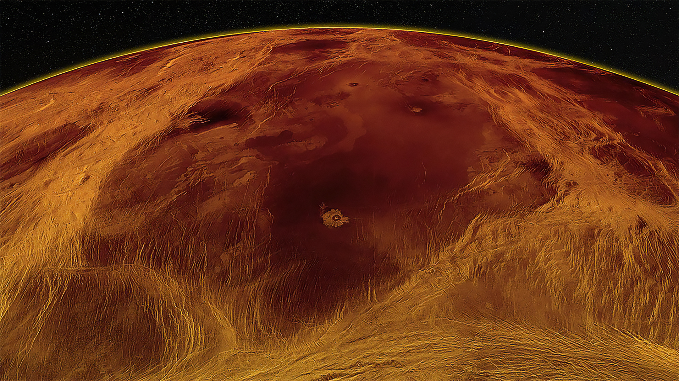 金星で地殻活動が継続か=新研究