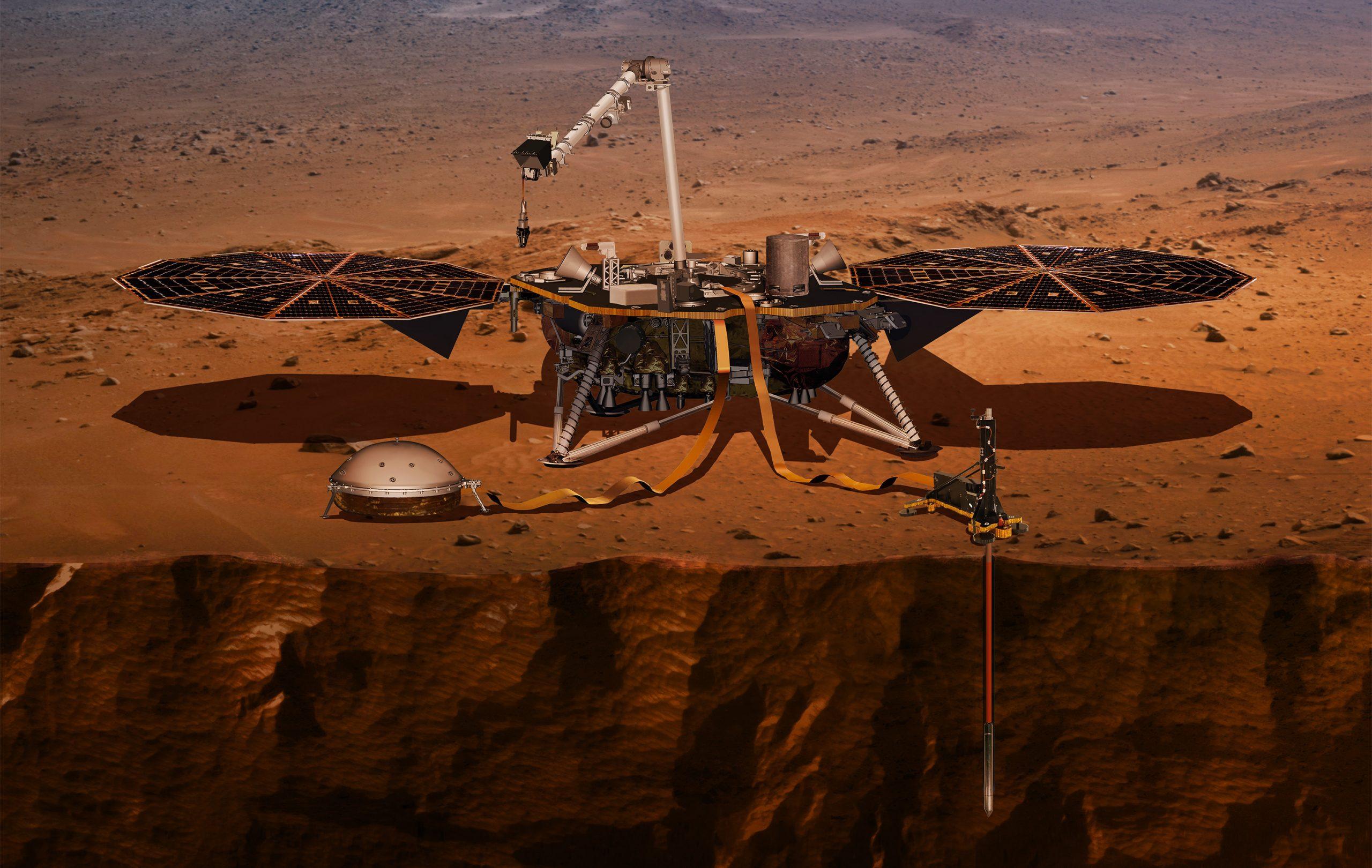 火星のコアは意外と大きかった? NASA探査機の測定で明らかになる