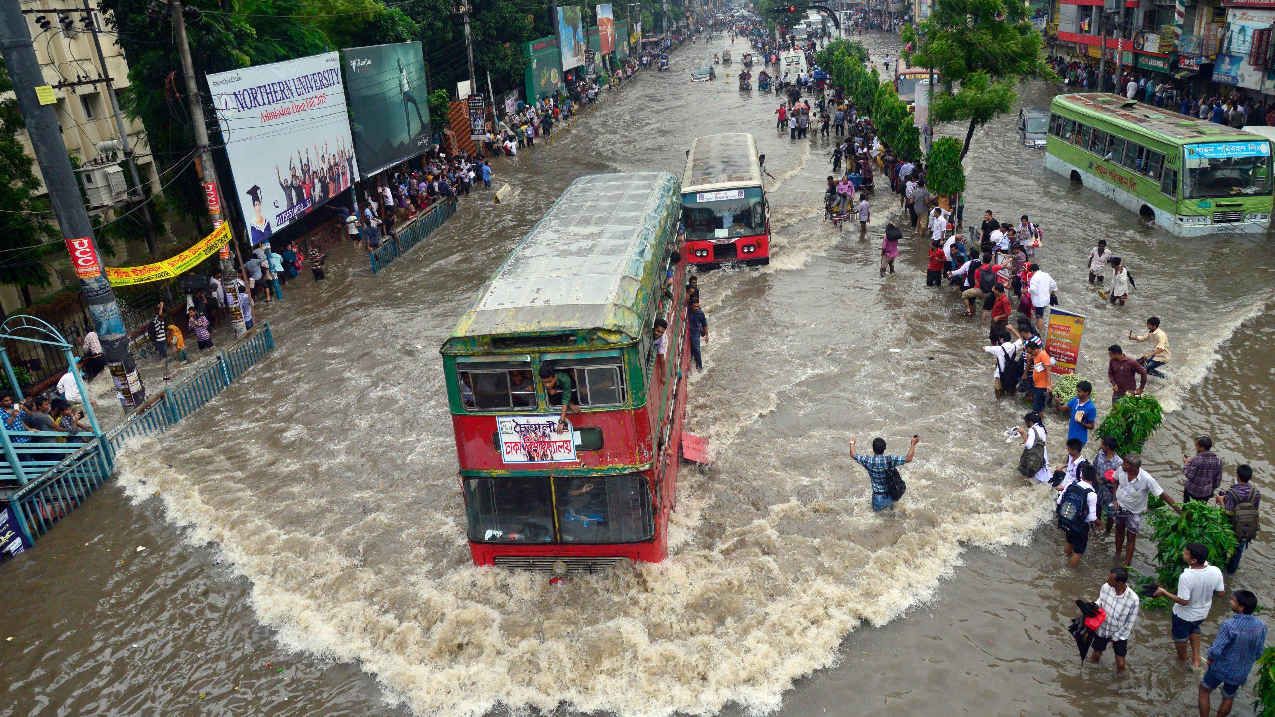 洪水発生地域で人口急増、衛星画像から驚きの事実が判明