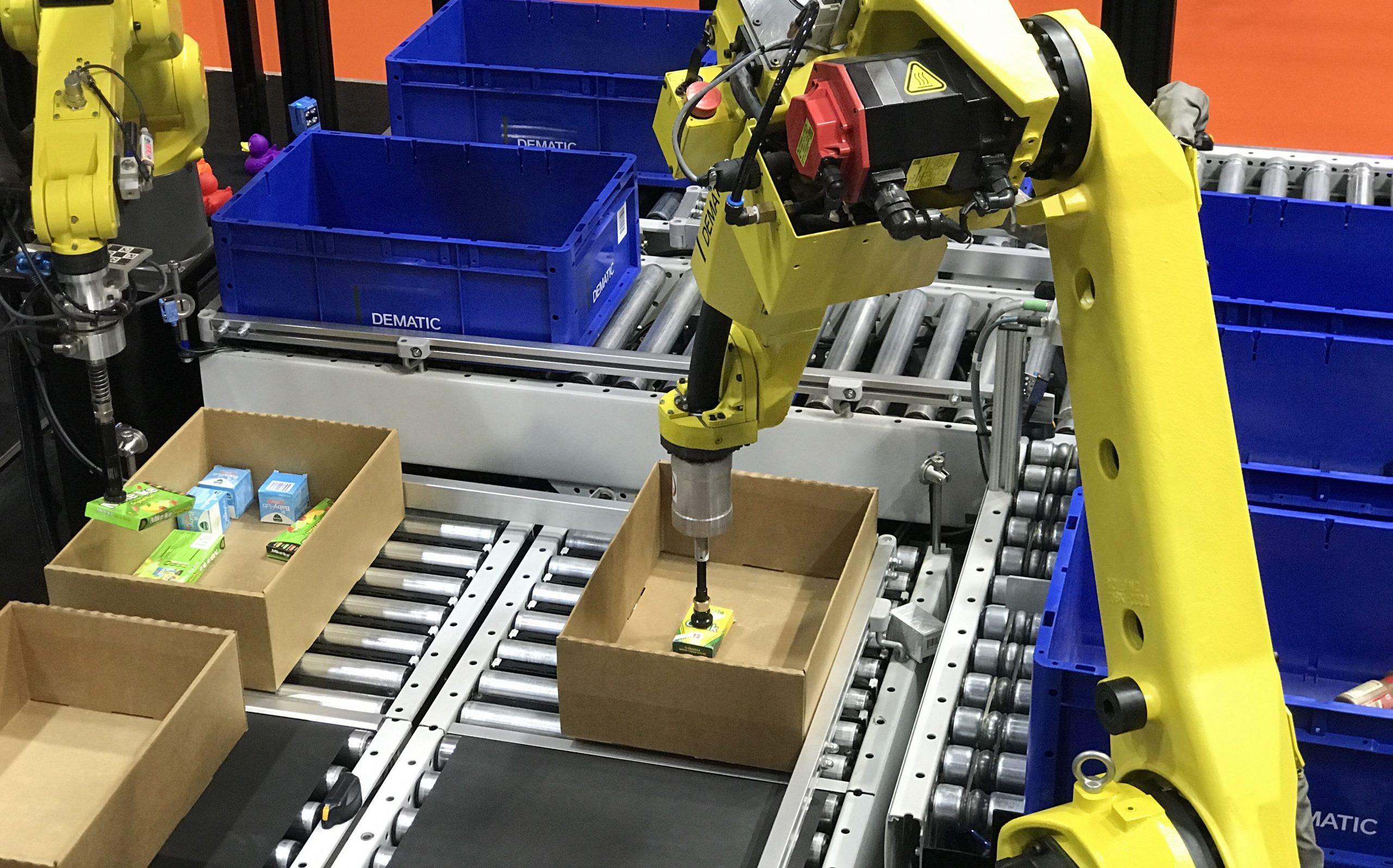 パンデミックで需要急増、AI搭載の新倉庫ロボの導入が加速