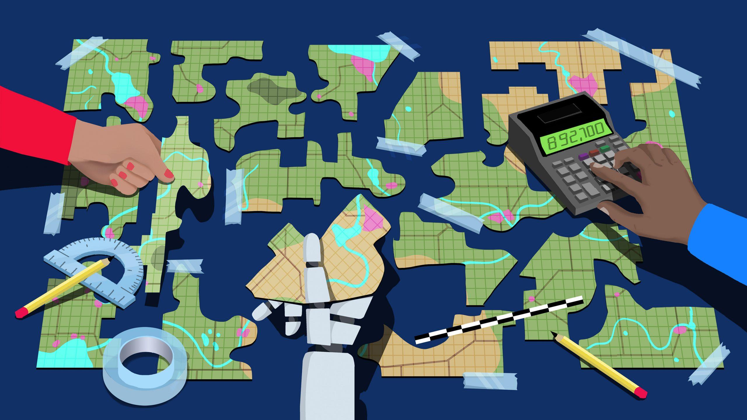 民意を無視する選挙ハック 「ゲリマンダー」を防げ、 検証を支える数学者たち
