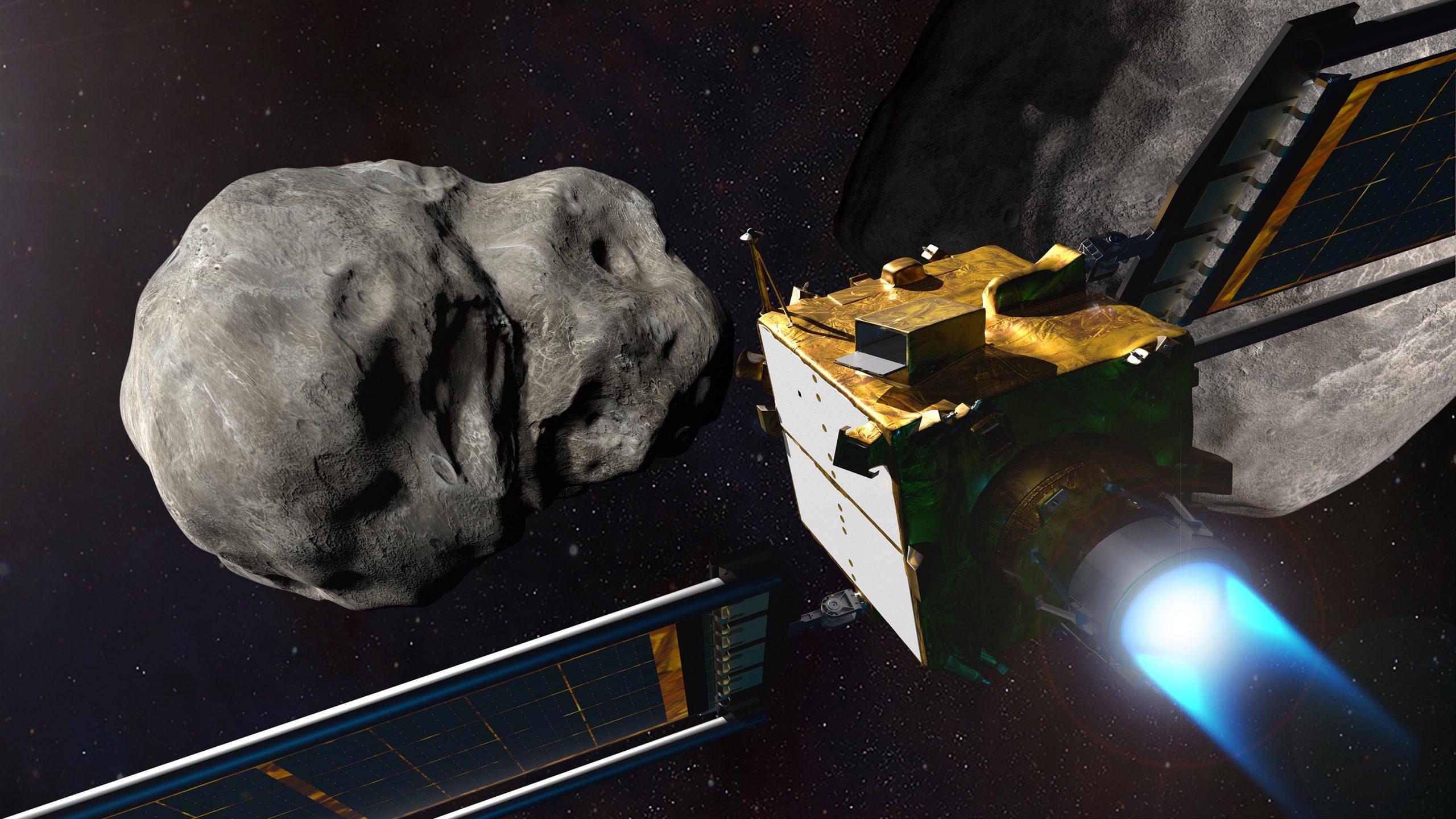 小惑星衝突を防ぐNASA実験で思わぬ影響か、新研究で指摘
